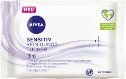 Nivea Sensitiv Reinigungstücher 3in1 sensible Haut