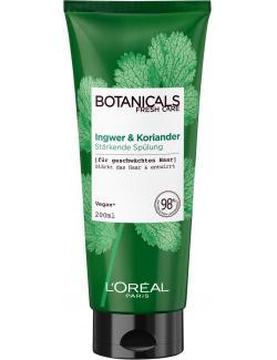 L'Oréal Botanicals Fresh Care Ingwer & Koriander Stärkende Spülung