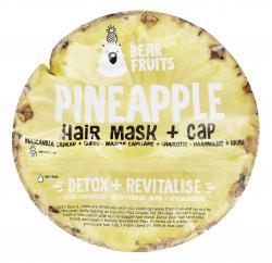 Bear Fruits Pineapple Hair Mask + Cap