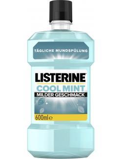 Listerine Mundspülung Cool Mint Milder Geschmack