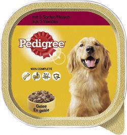 Pedigree mit 5 Sorten Fleisch in Gelee (300 g) - 3065890128316