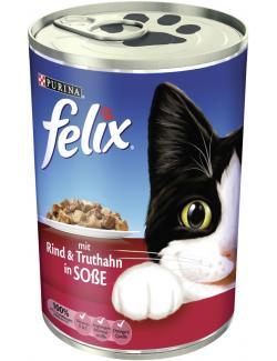 Felix mit Rind & Truthahn in Soße (400 g) - 4000487448100