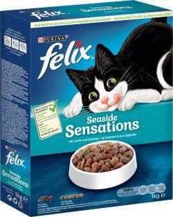 Felix Seaside Sensations mit Lachs, Seelachs und Gemüse