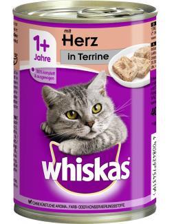 Whiskas Terrine mit Herz