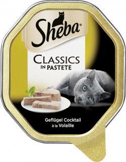 Sheba Classics in Pastete mit Geflügel Cocktail