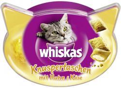 Whiskas Knuspertaschen mit Huhn & Käse (60 g) - 5998749108550