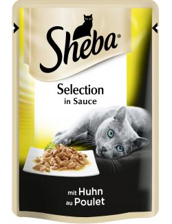 Sheba Selection mit Huhn in Sauce