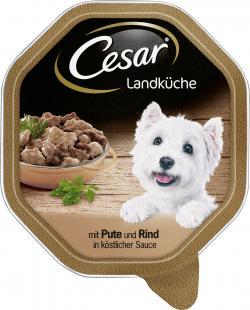Cesar Landküche Mini Filets mit Pute & Rind