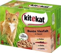 Kitekat Bunte Viefalt in Sauce (12 x 100 g) - 4008429014130