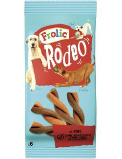 Frolic Rodeo mit Rind