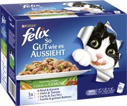 Felix So gut wie es aussieht gemischte Vielfalt mit Gemüse
