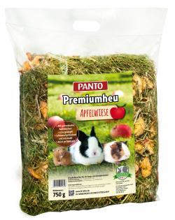 Panto Premiumheu Apfelwiese Einzelfuttermittel für Nager und Zwergkaninchen