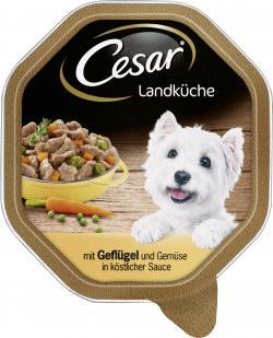 Cesar Landküche Geflügel & Gemüse in Sauce