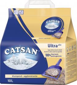 Catsan Ultra Plus-Ultra ergiebige Klumpstreu (10 l) - 4008429022227
