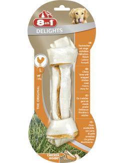 8in1 Delights Kauknochen mit Hähnchenfleisch L