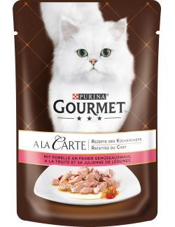 Gourmet A la Carte mit Forelle an feiner Gemüseauswahl (85 g) - 7613033058059