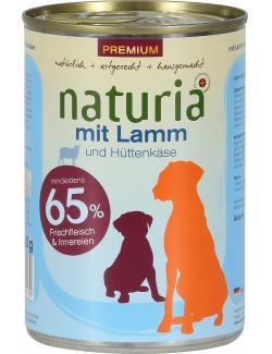 Naturia mit Lamm und Hüttenkäse