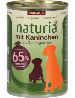 Naturia Kaninchen mit Gartengemüse (410 g) - 4260169361220