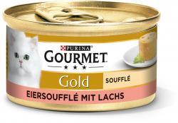 Gourmet Gold Eiersoufflé mit Lachs