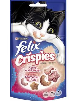 Felix Crispies mit Lachs- und Forellengeschmack (45 g) - 7613034290571