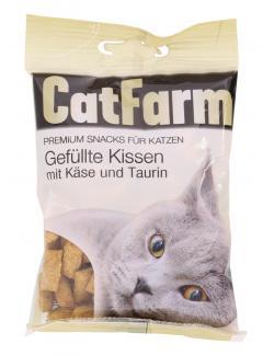 CatFarm Gefüllte Kissen mit Käse & Taurin