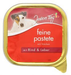Jeden Tag Feine Pastete mit Rind & Leber (300 g) - 4306180225452