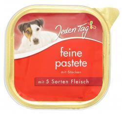 Jeden Tag Feine Pastete mit 5 Sorten Fleisch (300 g) - 4306180225773