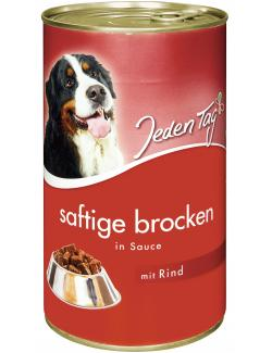 Jeden Tag Saftige Brocken in Sauce Rind (1,24 kg) - 4306180183608