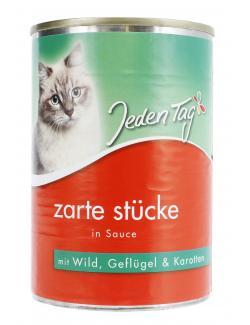 Jeden Tag Zarte Stücke in Sauce Wild, Geflügel & Karotten