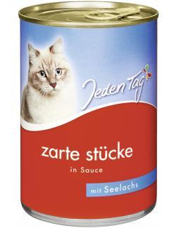 Jeden Tag Zarte Stücke in Sauce Seelachs (415 g) - 4306180182748