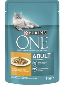 Purina One Adult Huhn & grüne Bohnen (85 g) - 7613034451804