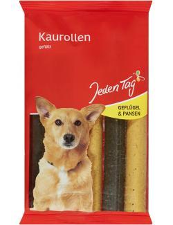 Jeden Tag Hund Gefüllte Kaurollen mit Geflügel & Pansen
