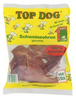 Top Dog Schweineohren getrocknet