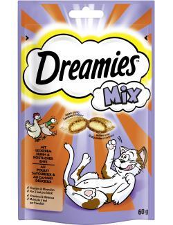 Dreamies Katzensnack mit Huhn und Ente