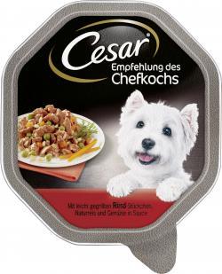 Cesar Empfehlung des Chefkochs Rind - leicht gegrillt