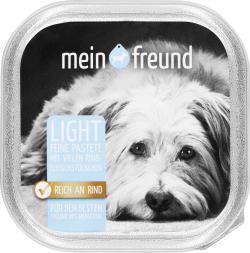Mein Freund Hund Feine Pastete light Fleisch