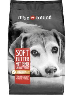 Mein Freund Hund Softfutter Rind