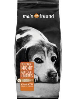 Mein Freund Hund Vollwert Mix mit Geflügel und Reis