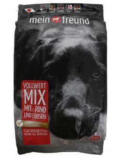 Mein Freund Hund Vollwert Mix Rind und Erbsen