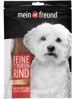 Mein Freund Hund Zarte Streifen Rind (100 g) - 4306188311515