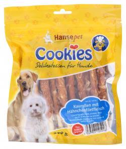 Hansepet Cookie's Kaurollen mit Hähnchenfiletfleisch (200 g) - 4037901105998