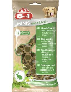 8in1 Minis Rabbit & Herbs (100 g) - 4048422122760