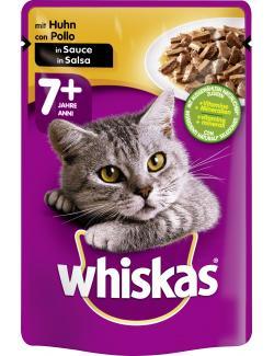 Whiskas 7+ mit Huhn in Sauce
