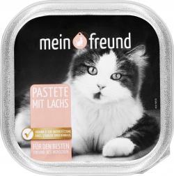 Mein Freund Katze Pastete Lachs (100 g) - 42313953