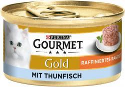 Gourmet Gold Raffiniertes Ragout Thunfisch (85 g) - 7613035439726