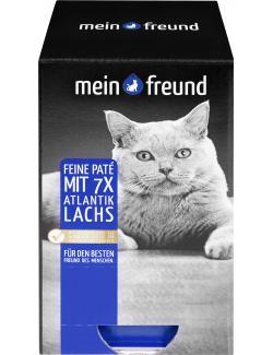 Mein Freund Katze Feine Paté mit Lachs MHD 10.09.18