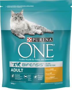 Purina One Bifensis Adult Reich an Huhn