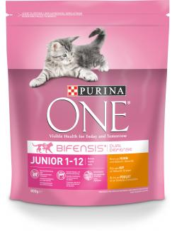 Purina One Bifensis Junior Reich an Huhn
