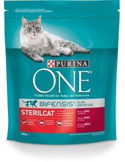 Purina One Bifensis Sterilcat Rind (800 g) - 7613035613928