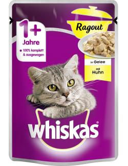 Whiskas 1+ Ragout in Gelee mit Huhn (85 g) - 5900951263187